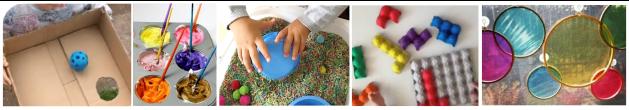 Exemplos de atividades a realizar em casa com crianças de creche
